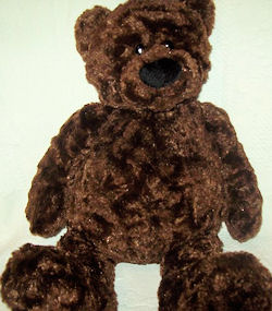 , FOUND &#8211; GUND No. 15025 TUMBLY Large DARK BROWN BEAR <i>Top Priority</i>