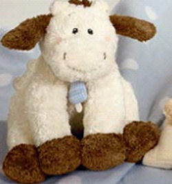 , FOUND – GUND Hey Diddle Diddle KEY WINDUP COW