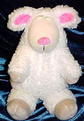 , Searching – 90's GUND White SHEEP Named WOLCOTT