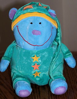 2000 Gymboree Blue Bedtime Bear