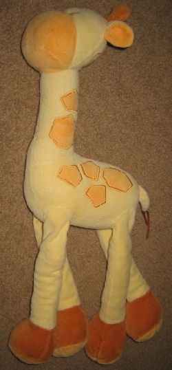 2003 Gymboree Long Legged Yellow & Orange Giraffe