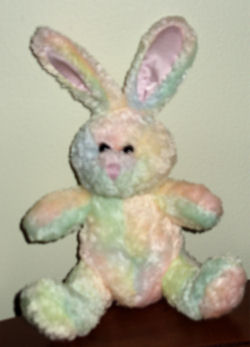 M&M's Multi-Colored Chenille Rabbit