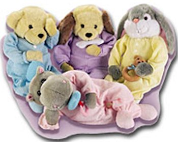 Animal Pillow That Turns Into Pajamas : Searching - 90s Happiness Express Snoozems Hippo and Elephant