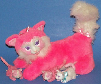 90's Hasbro Pink Kitty Surprise with All Babies