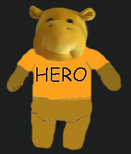 HIPPO HERO Stuffed animal