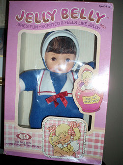 , Searching – 80's Ideal JELLY BELLY PURPLE PUNCH DOLL