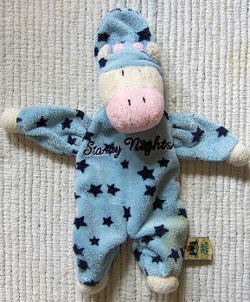 Jelly Kitten Starry Nights Blue Cow