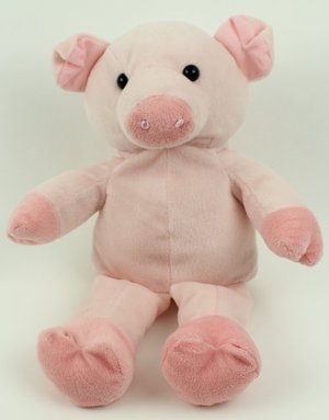 Kelly Toys Soft Pink Pig