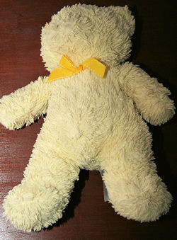 , FOUND – KIDS PREFERRED 2006 YELLOW BEAR