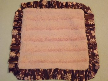 koala baby pink blankie, Searching – Koala Baby Pink Blankie with Flower Print Brown Hem