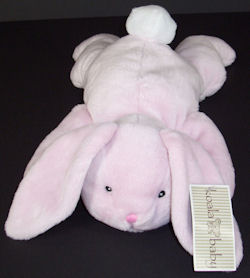 Koala Baby Lying Down Floppy Pink Rabbit