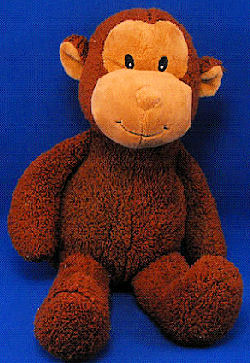 Koala Baby No. 1415352 Large Brown Tan Monkey