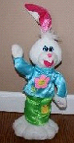 DanDee Rabbit that Sings and Dances with a Hula Hoop to Lets Twist Again Like We Did Last Easter