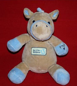 , FOUND – 2005 Target MY LITTLE BUCKAROO Cheeks LIGHT UP Plays ROCK A BYE BABY