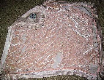 Pink Little Giraffe Swirl Velour Crib Blankets