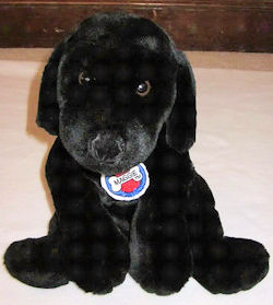 Manhattan Toy Black Lab with Maggie Dog Tag