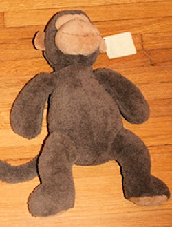 Large PBK Pottery Barn Kids Marley Monkey