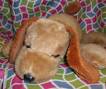 Mattel Napper dog, Searching – 70's Mattel NAPPER TAN Talking DOG I'm Lonely, Ruff, Ruff, Ruff