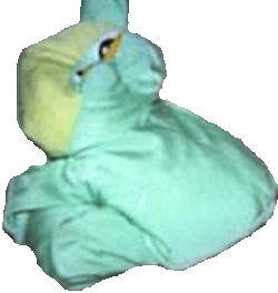 MOSHI Style Green & Yellow Frog