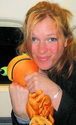 MOSHI Style Microbead Orange Frog