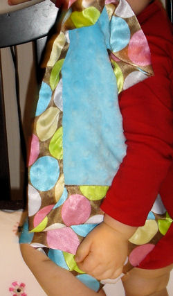 , FOUND – Blankets and Beyond MINKY DOTS BLANKIE