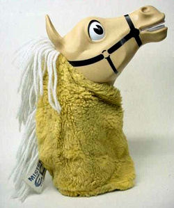 60's? 70's? Mr. Ed Head Puppet with a Pull String that Talked