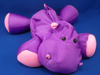 Brentwood Originals MOSHI Purple & Pink Hippo