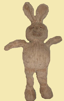 Mothercare Beige or Tan Corduroy/ Rabbit