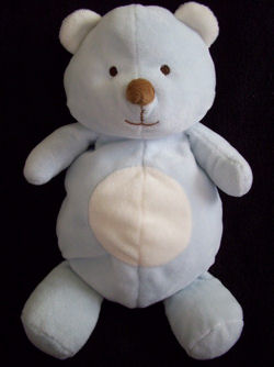 Old Navy Pastel Blue Bear with White Ears, Tummy