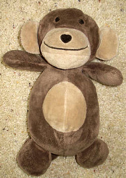 Old Navy Brown Monkey with Tan Face and Tummy & a Heart Shaped Brown Nose