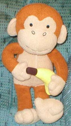 Old navy Monkey Holding Bannana