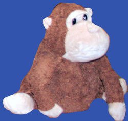 , FOUND – Old Navy FAT Brown and Tan MONKEY