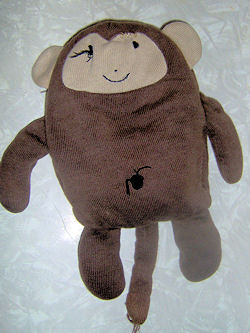 2006 Old Navy Brown & Tan Flat Monkey