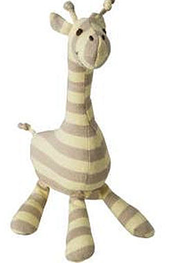 , Searching – Old Navy Yellow & Tan STRIPED GIRAFFE RATTLE