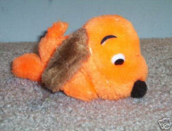 Orange DROOPER DOG
