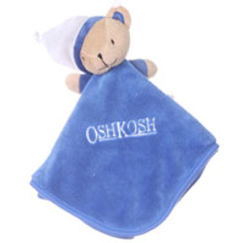 Oshkosh Royal Blue Bear Blankie