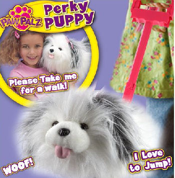 Paw Pals Perky Puppy Interactive Dog
