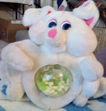 80's? 90's? Plush Pig Candy Dispenser