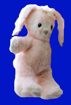 Hallmark pink bunny