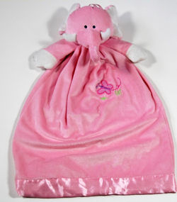 DanDee Pink Elephant Pajama Bag
