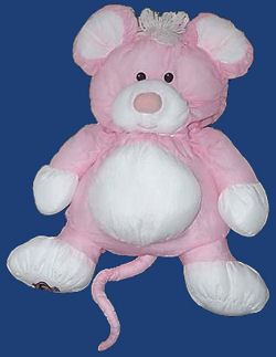 Fisher Price Pink Mouse Puffalump
