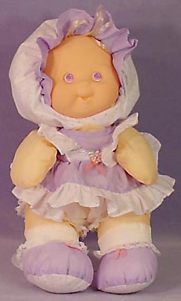 Fisher Price Lavender Dress Up Puffalump Doll