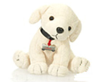 Plushland Small Cream Labrador Dog
