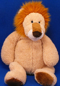 2006 Pottery Barn Kids Large Lexi Tan Lion Critter