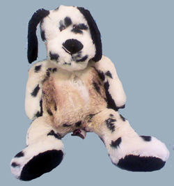 1997 Preferred Plush Dalmatian Dog
