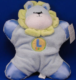 Prestige No. 11037 Flat Blue Lion with Yellow L LION Patch