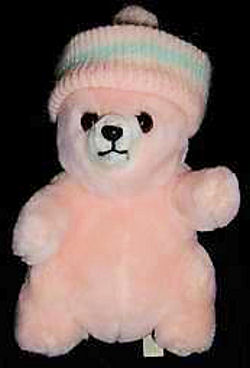 , Searching – 70's Prestige YELLOW POT BELLY BEAR Wearing SKI CAP