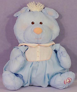 Fisher Price Puffalump Blue Bear with Blue Romper