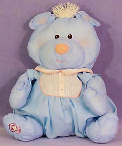 , FOUND – 80's Fisher Price PUFFALUMP BLUE BEAR