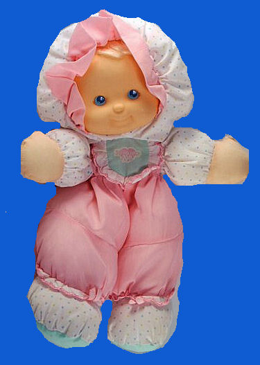 Fisher Price Puffalump Pink Baby Doll